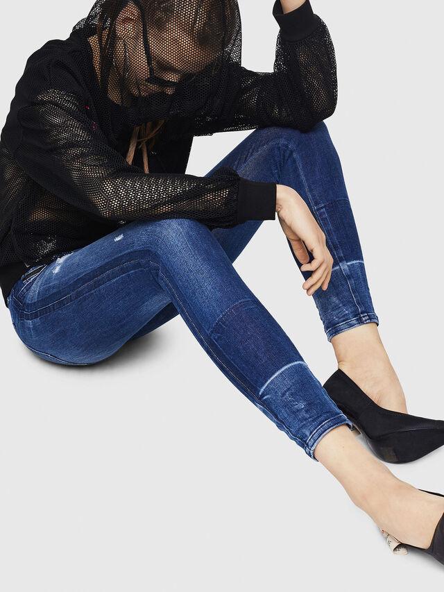 Diesel - Slandy 0090K, Bleu moyen - Jeans - Image 5