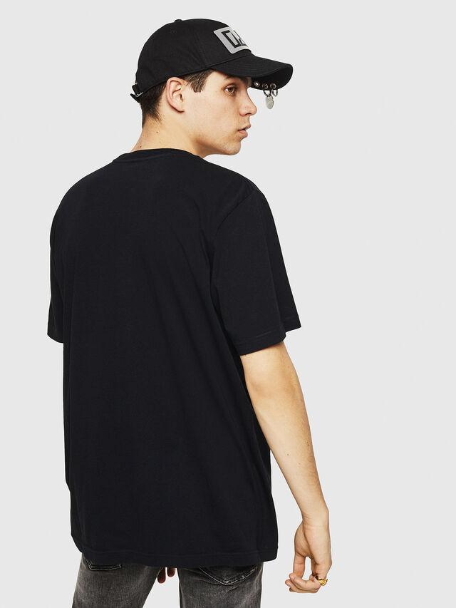 Diesel - T-JUST-Y21, Noir - T-Shirts - Image 2