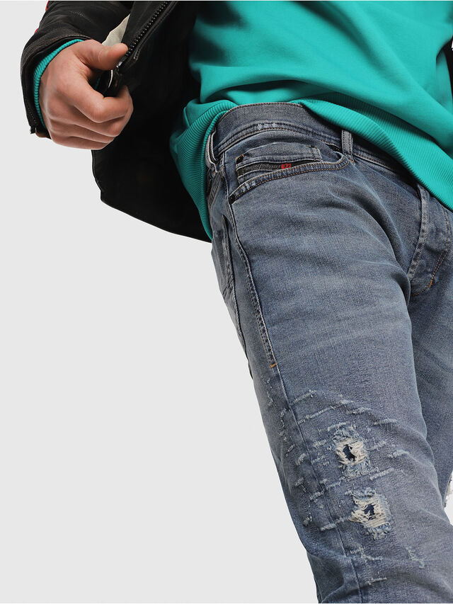 Diesel - Tepphar 080AC, Bleu moyen - Jeans - Image 4