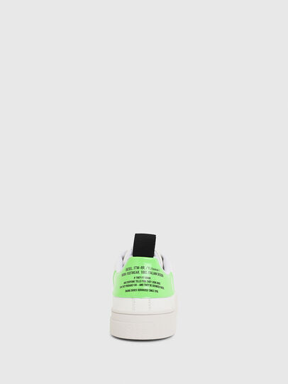 Diesel - S-CLEVER LOW LACE, Blanc/Vert - Baskets - Image 4