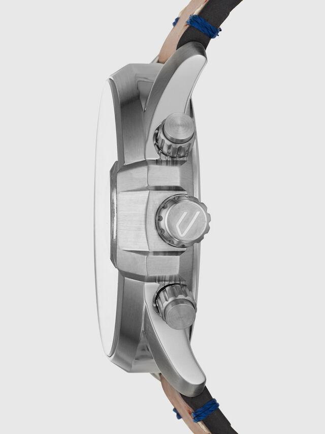 Diesel - DZ4470, Cuir Marron - Montres - Image 2