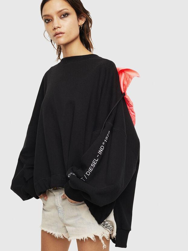 F-JUSTIN, Noir - Pull Cotton