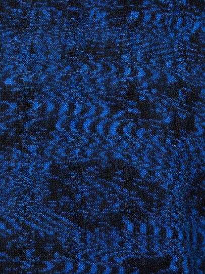 Diesel - K-AZOTIC, Noir/Bleu - Pull Maille - Image 5