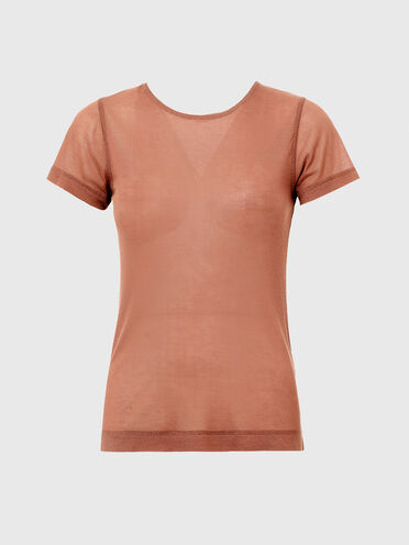 T-shirt Green Label avec collier chaîne