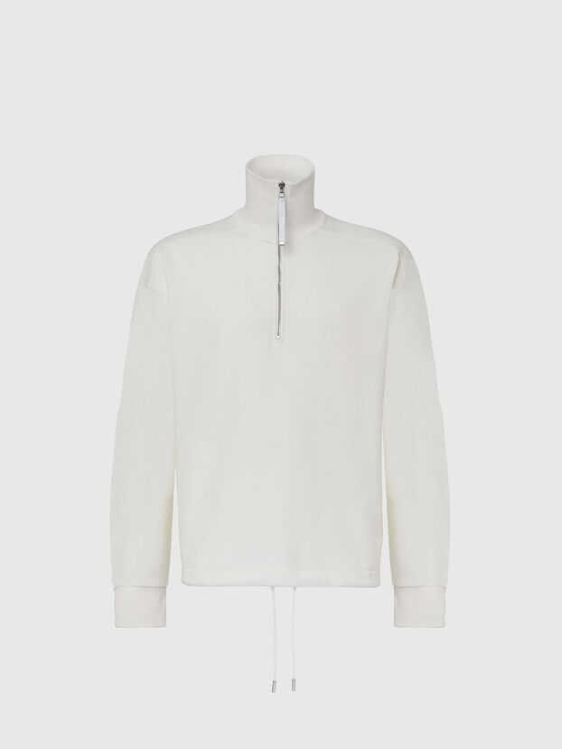 S-STUFF, Blanc - Pull Cotton