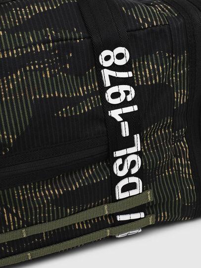 Diesel - M-CAGE DUFFLE M, Noir/Vert - Sacs de voyage - Image 4