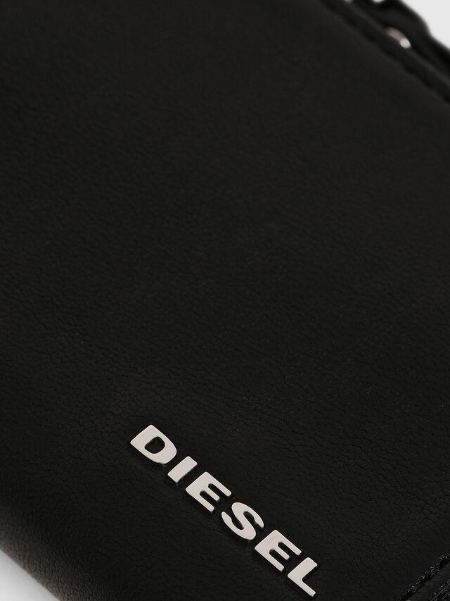 Diesel - L-PASSME, Cuir Noir - Petits Portefeuilles - Image 3