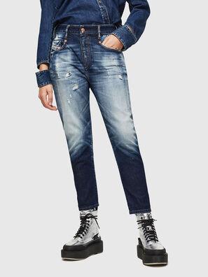 Fayza 0092I, Bleu Foncé - Jeans