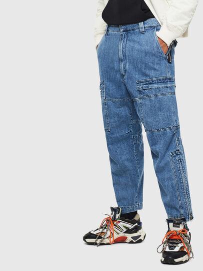 Diesel - D-Luks 009CL, Bleu Clair - Jeans - Image 6