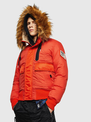W-BURKISK, Orange - Vestes d'hiver