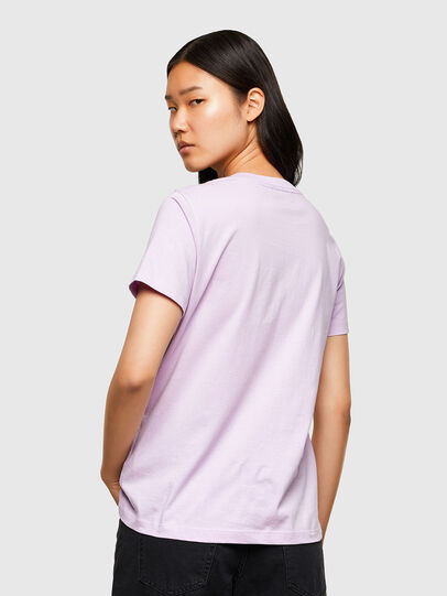 Diesel - T-SILY-R5, Lilas - T-Shirts - Image 2