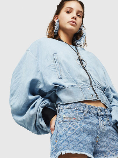 Diesel - DE-RIFTY, Bleu Clair - Shorts - Image 4