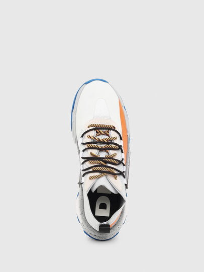 Diesel - S-KIPPER BAND, Blanc/Orange - Baskets - Image 4
