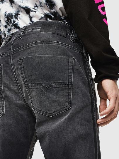 Diesel - Krooley JoggJeans 0094Q, Noir/Gris foncé - Jeans - Image 4