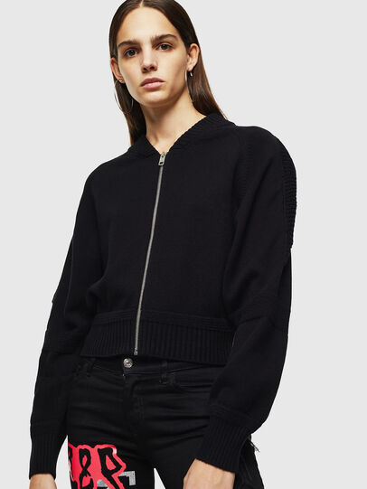 Diesel - M-TESY, Noir - Pull Maille - Image 1