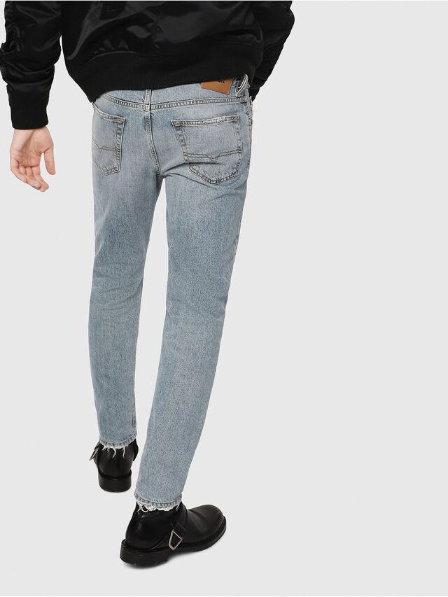 Diesel - Mharky 080AF, Bleu Clair - Jeans - Image 2