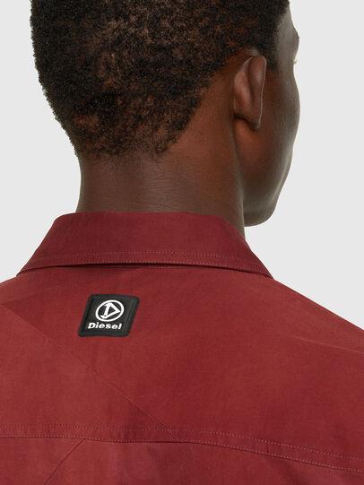 Diesel - S-GUNN-TIE, Rouge - Chemises - Image 4