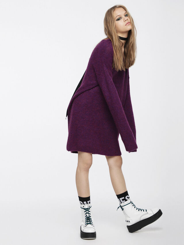 Diesel - M-SOFTY, Violet - Robes - Image 3