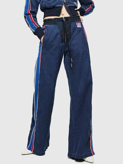 Diesel - D-Erinn JoggJeans 069HP, Bleu Foncé - Jeans - Image 1