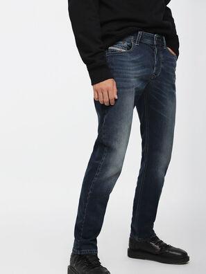 Larkee-Beex 084BU, Bleu Foncé - Jeans
