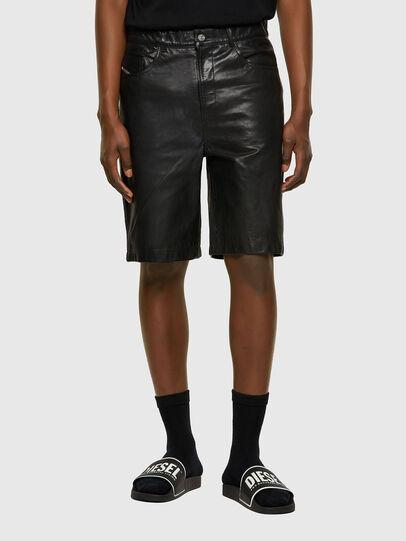 Diesel - P-MACS-SHORT, Noir - Pantalons - Image 1