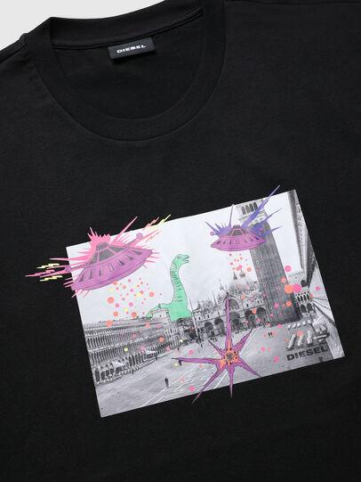 Diesel - VE-T-JUST-SMARCO, Noir - T-Shirts - Image 3