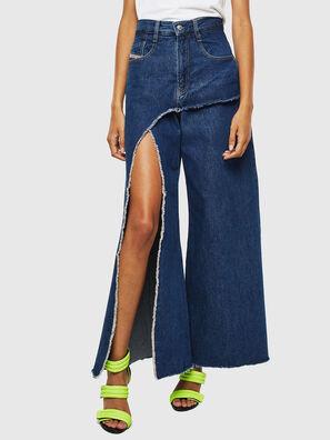 D-Izzier 0LAXA, Bleu Foncé - Jeans