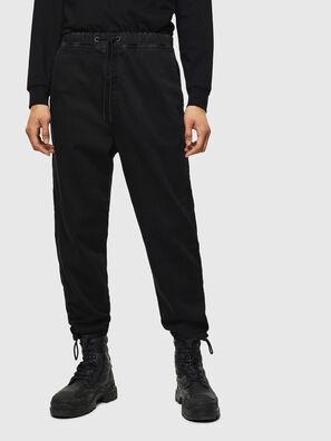 D-Toller JoggJeans 0687Z, Noir/Gris foncé - Jeans
