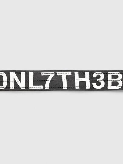 Diesel - B-R4V3, Noir/Blanc - Ceintures - Image 3