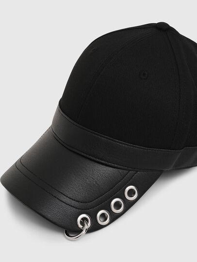 Diesel - COSNAP, Noir - Chapeaux - Image 3