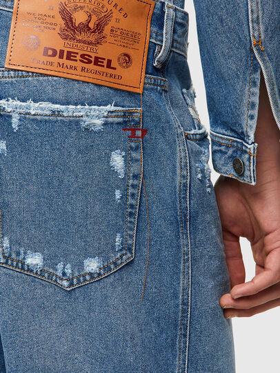 Diesel - D-WILLOH-X, Bleu Clair - Shorts - Image 3