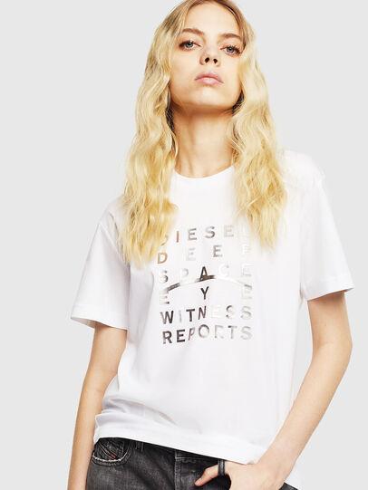 Diesel - T-DIEGO-J8, Blanc - T-Shirts - Image 2