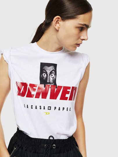 Diesel - LCP-T-DIEGO-DENVER, Blanc - T-Shirts - Image 6