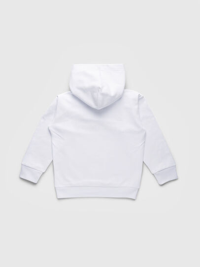 Diesel - SDIVISION OVER, Blanc - Pull Cotton - Image 2