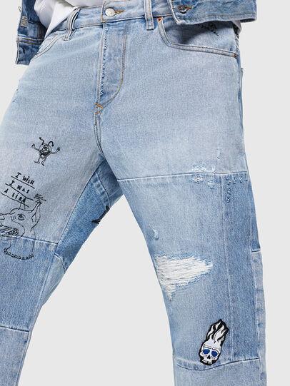Diesel - D-Kodeck 0078F, Bleu Clair - Jeans - Image 3