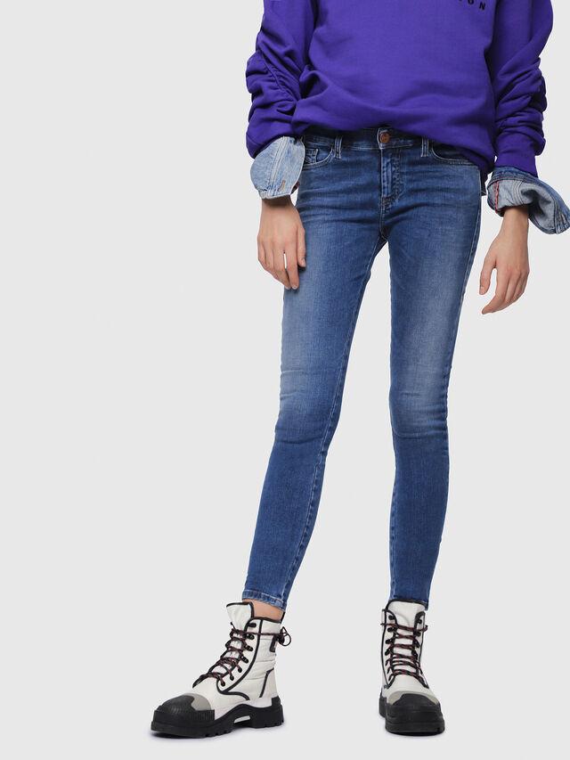Diesel - Slandy 084NM, Bleu moyen - Jeans - Image 1