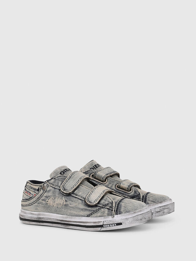 Diesel - SN LOW STRAP 11 DENI, Jean Gris - Footwear - Image 2