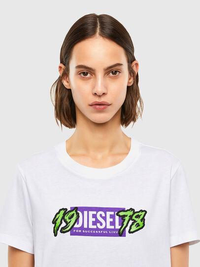Diesel - T-SILY-K4, Blanc - T-Shirts - Image 3