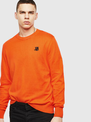 K-FREEX, Orange - Pull Maille