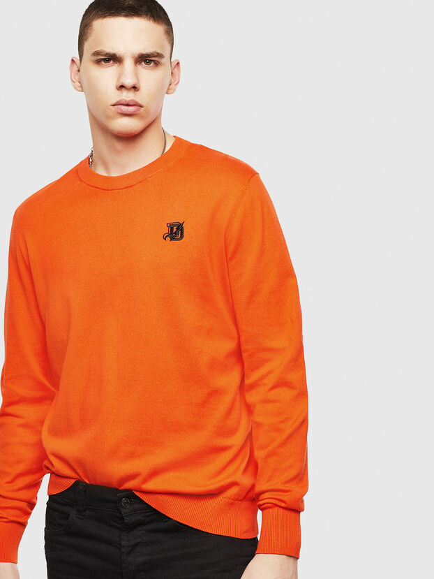 K-FREEX, Orange - Pull Maille