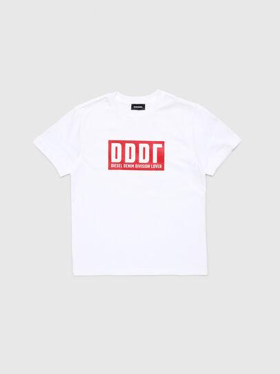 Diesel - TJUSTA9, Blanc - T-shirts et Hauts - Image 1