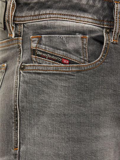 Diesel - Sleenker 009FW, Gris Clair - Jeans - Image 3