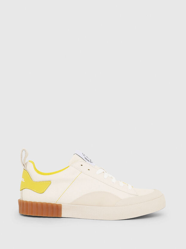 S-BULLY LC W, Blanc/Jaune - Baskets