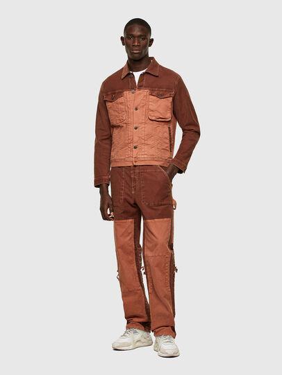 Diesel - D-Franky JoggJeans® 0DDAW, Marron - Jeans - Image 6