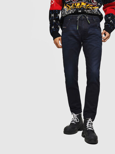 Diesel - Krooley JoggJeans 069IC, Bleu Foncé - Jeans - Image 1