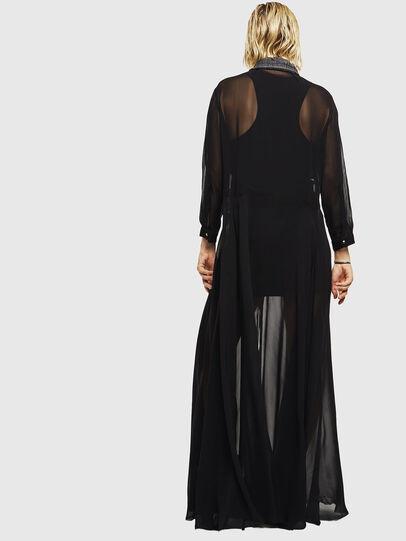 Diesel - D-RAHAN-A, Noir - Robes - Image 2
