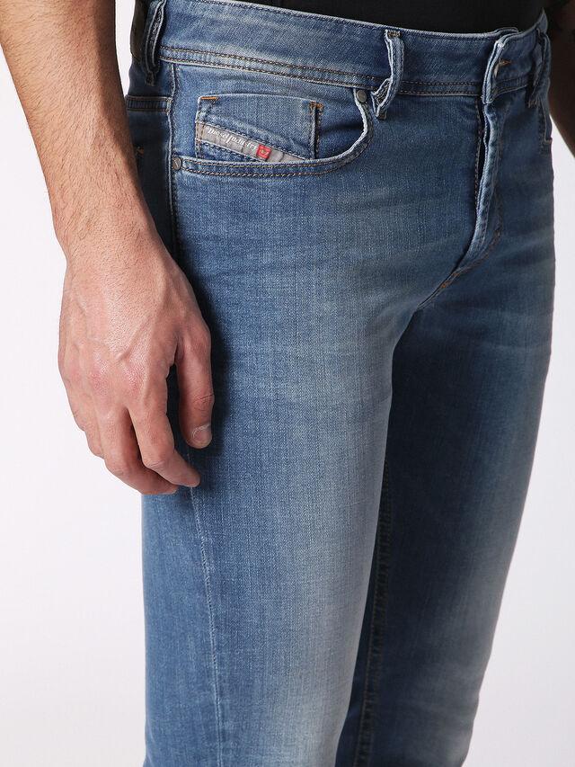 Diesel - Sleenker 084RV, Jean Bleu - Jeans - Image 6