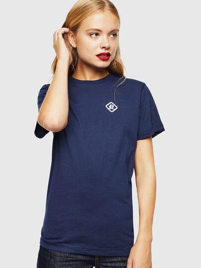 Diesel - CC-T-DIEGO-COLA, Bleu Foncé - T-Shirts - Image 2