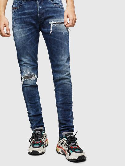 Diesel - Tepphar 0090G, Bleu Foncé - Jeans - Image 1