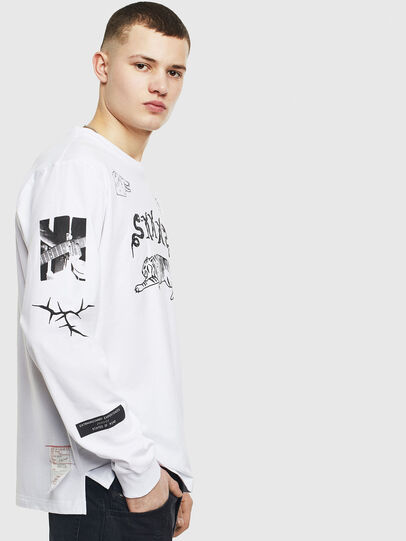 Diesel - T-JUSTLY, Blanc - T-Shirts - Image 3